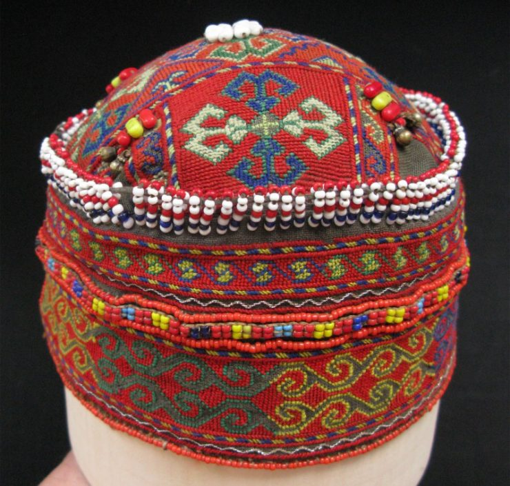 Kohistan-Swat valley vintage child cap
