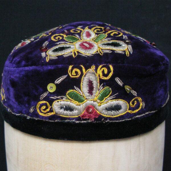 Uzbekistan Bokhara tribal hat