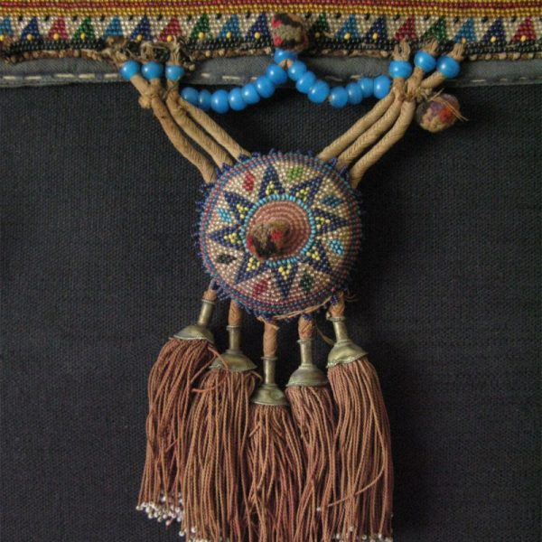 Eastern Anatolian beaded horse chest decoration