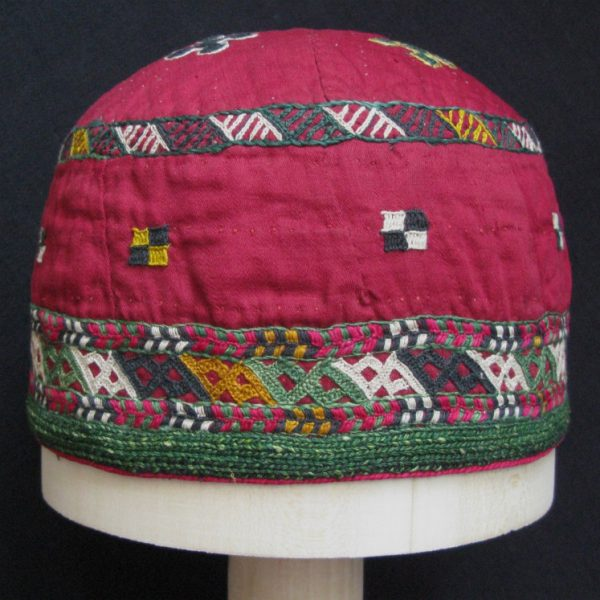 Turkmen Chodor tribal hat