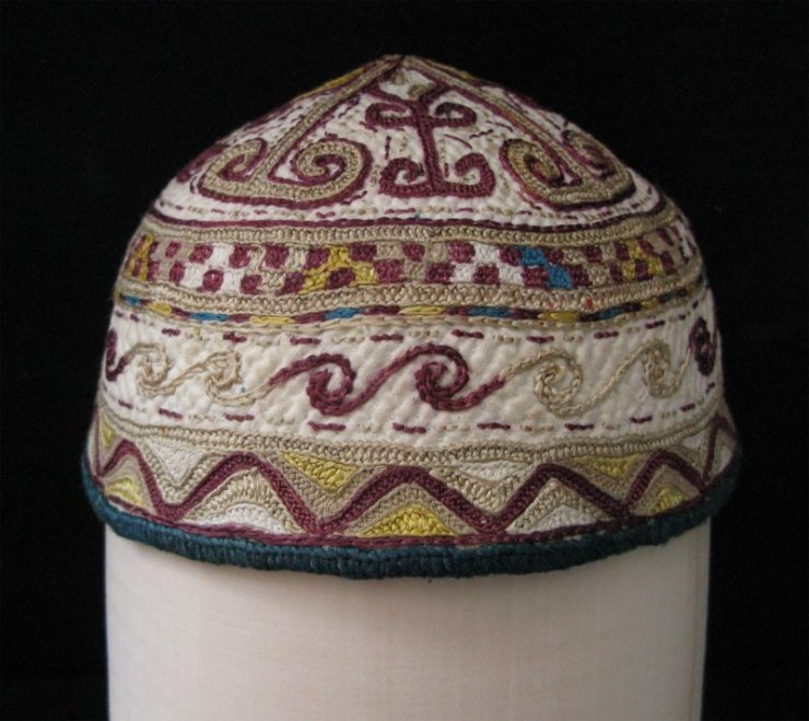 Turkmen - Yomud child hat