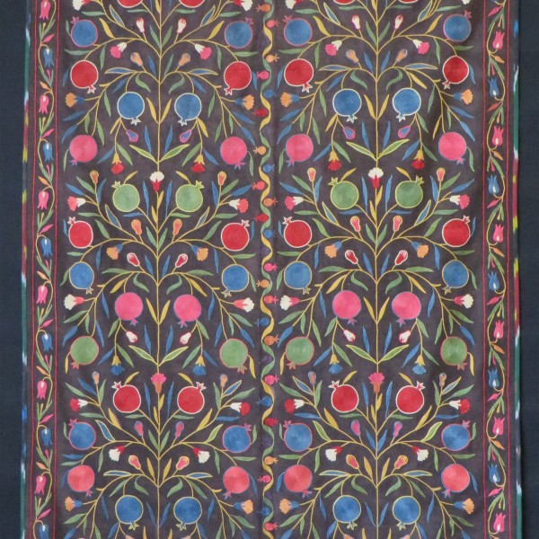 Uzbekistan Fergana Valley handmade Suzani