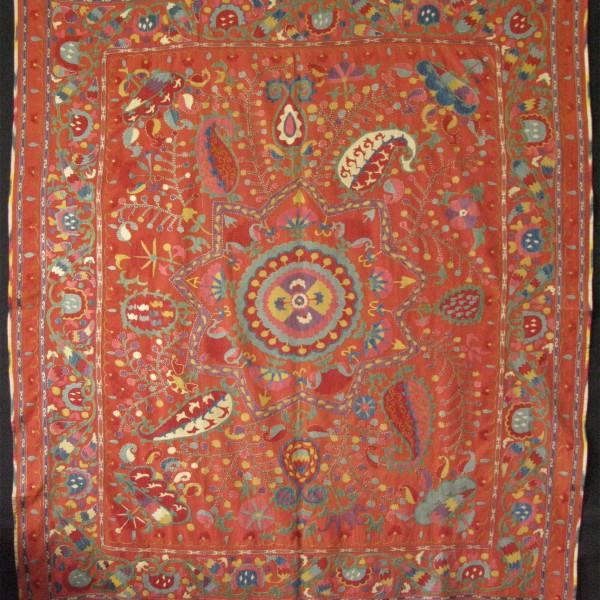 Uzbekistan Fergana ethnic Suzani