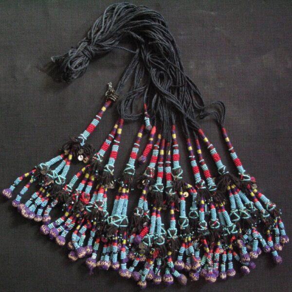 Uzbekistan - Surkanderya tribal beaded tassels