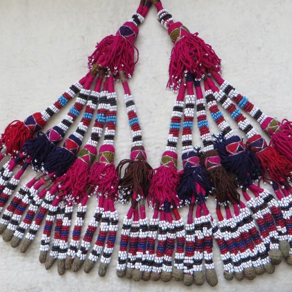 North Afghanistan – Pashtun tribal beaded tassels
