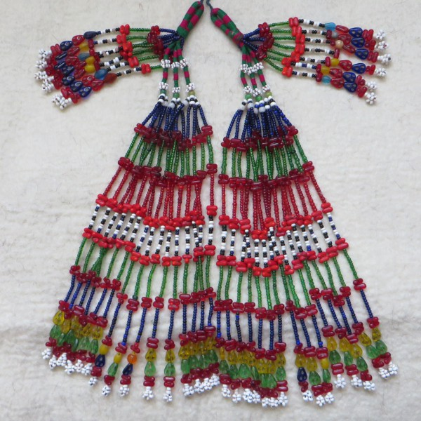 North Afghanistan – tribal glass beaded tassels