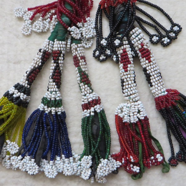North Afghanistan – Pashtun tribal beaded tassels
