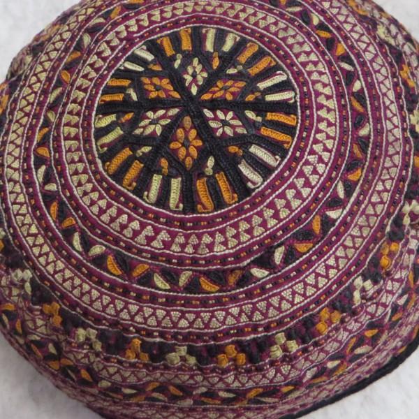 Turkmen Tekke children cap