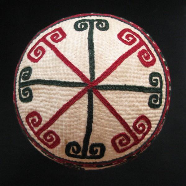 Turkmenistan - Yomud Tribal vintage hat