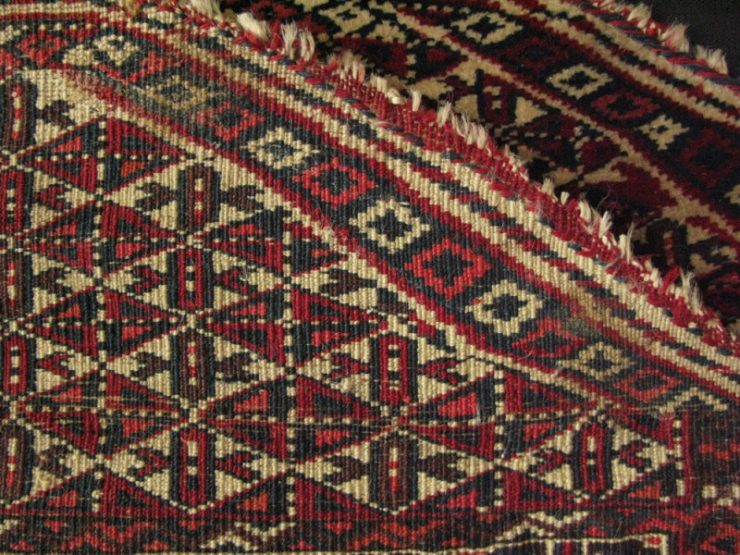 Turkmen Salanchak prayer rug