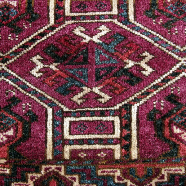 Turkmenistan - Ersari torba with kejebe design