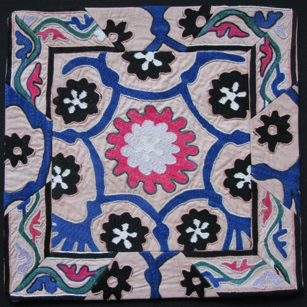 Tajikistan, Handmade Pair of Pillow covers