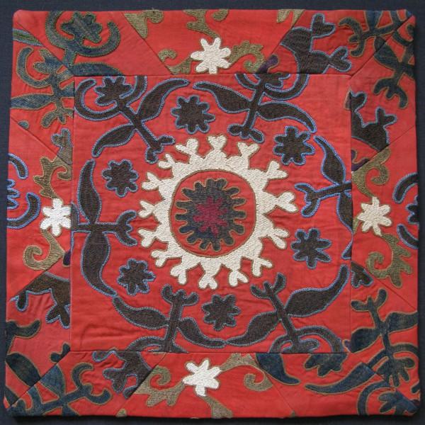 Tajikistan Handmade Pair of Pillow covers