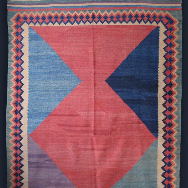 Qashqai Gabbe design kilim made in Anatolia by Turkmens