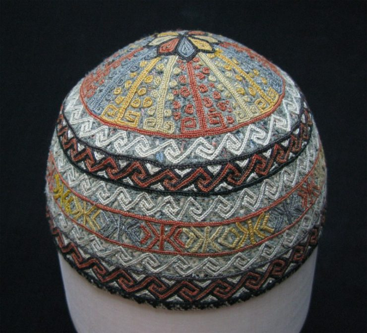 Turkmen Yomud Tribal childs hat