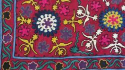 Vintage Uzbekistan Samarkand Suzani