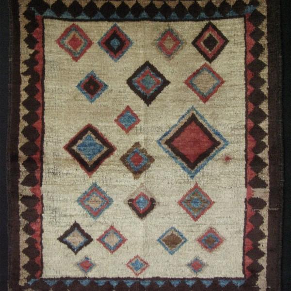 Persian - Vintage Qashqai small rug
