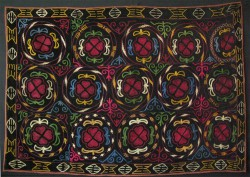 Kirgiz Yurt wall hanging