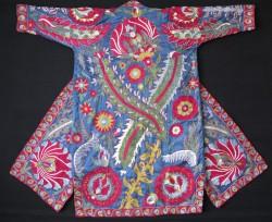 Uzbekistan - Tashkent Vintage handmade CHAPAN - Coat for man