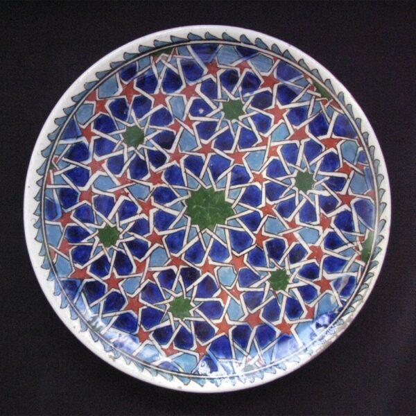 Anatolia Kutahya ceramic plate