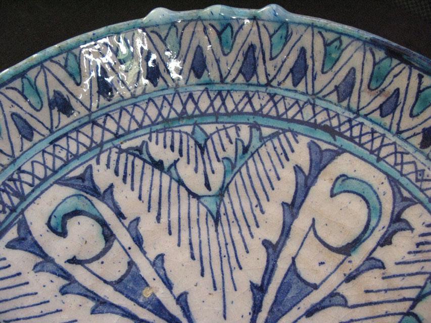 UZBEKISTAN KHORAZM – KHIVA ceramic glazed bowl