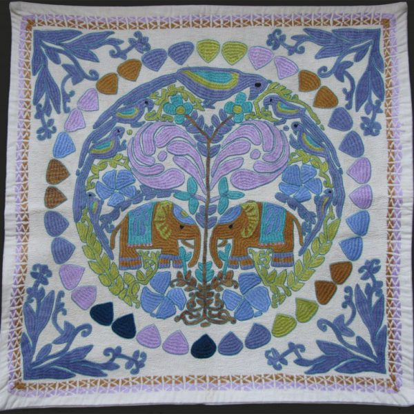India handmade pillow case