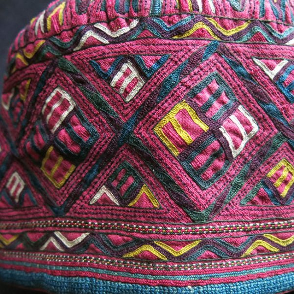 Turkmen – Tekke antique ceremonial hat