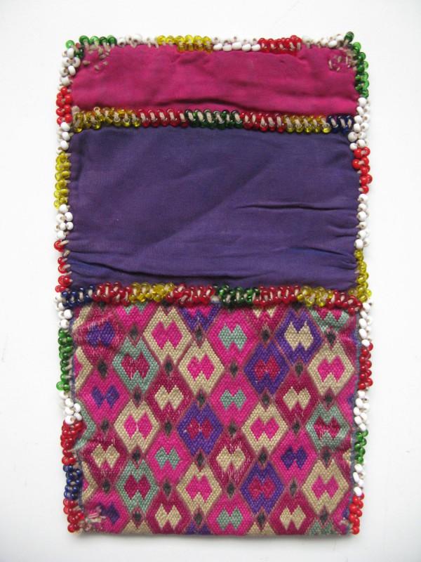 Vintage North Afghanistan - Ladies wallet Hazara Tribe