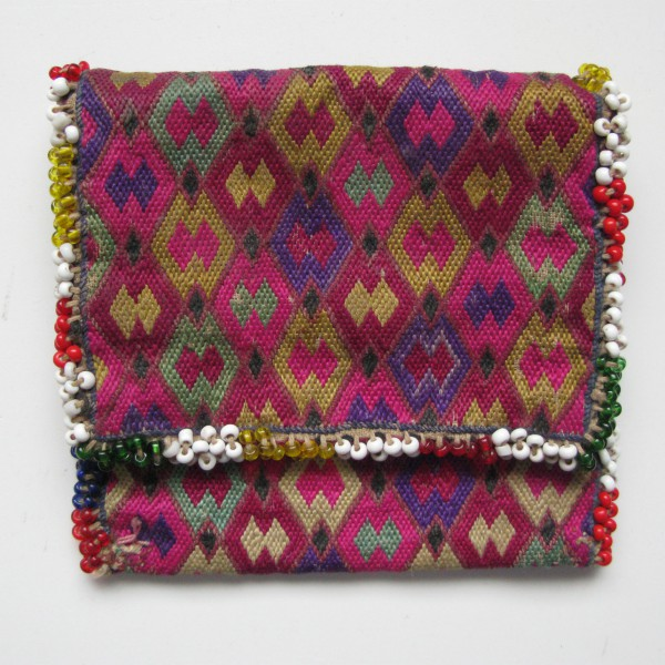 Vintage North Afghanistan - Ladies wallet Hazara Tribe