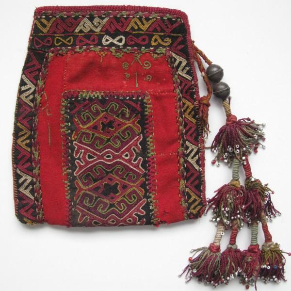Uzbekistan Upper AMURARYA river delta Karakalpaks small vanity bag