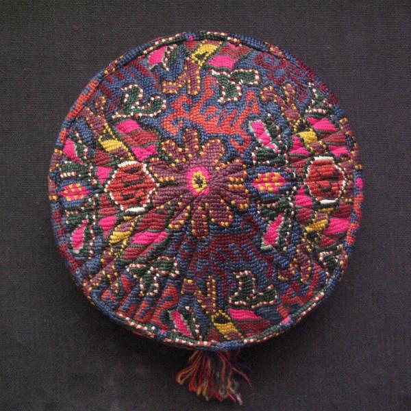 Uzbekistan - Bokhara Tajik LAKAY tribal hat