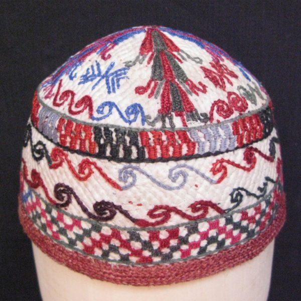 Turkmen – Tekke child hat from Afghanistan