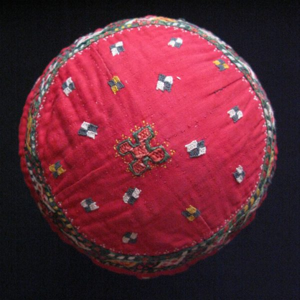 Turkmen Chodor ceremonial hat from Uzbekistan