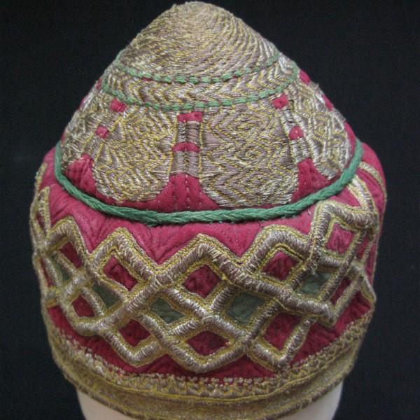 Afghanistan – Hazara tribal ceremonial hat