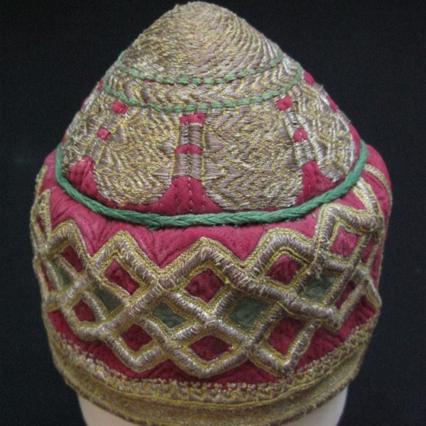 Afghanistan – Hazara tribal ceremonial hat