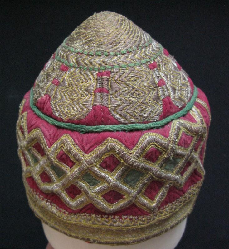 Afghanistan – Ersary Turkmen tribal ceremonial hat
