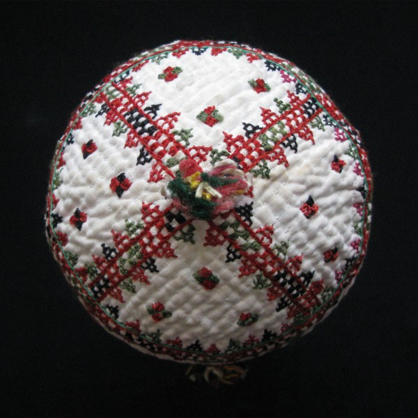 Turkmen Ersary child hat from north Afghanistan