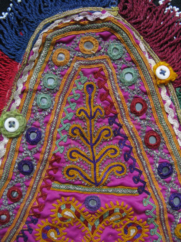 Afghanistan – Pashtun tribal vintage bicycle seat cover
