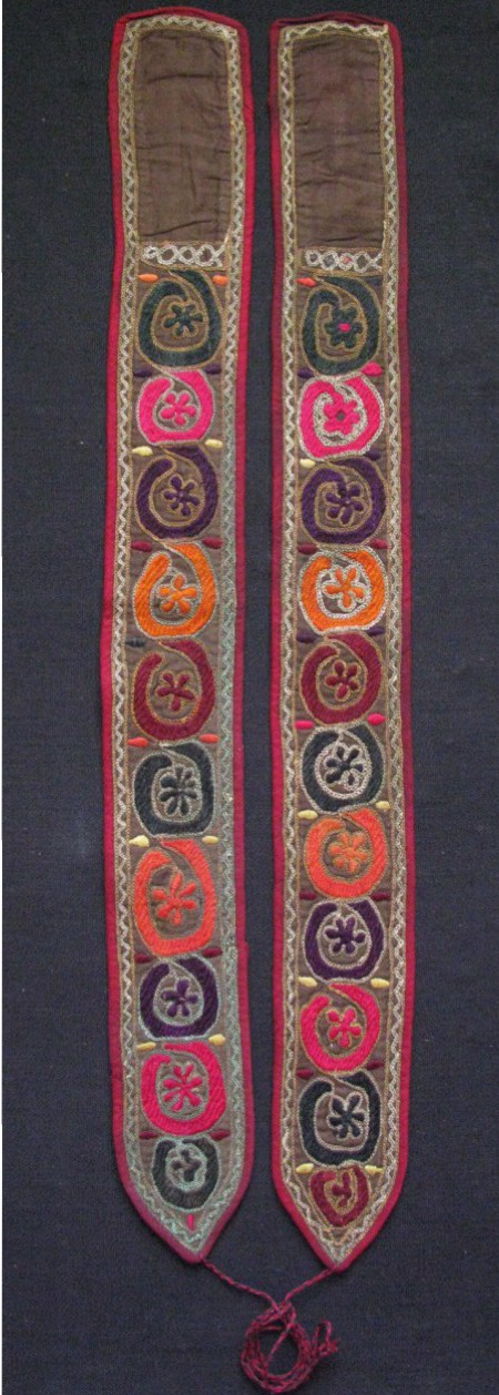 North Afghanistan – Pashtun Vintage pair of putties