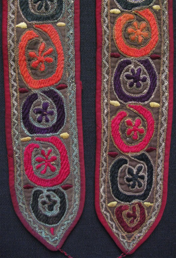 North Afghanistan – Pashtun Vintage pair of putties