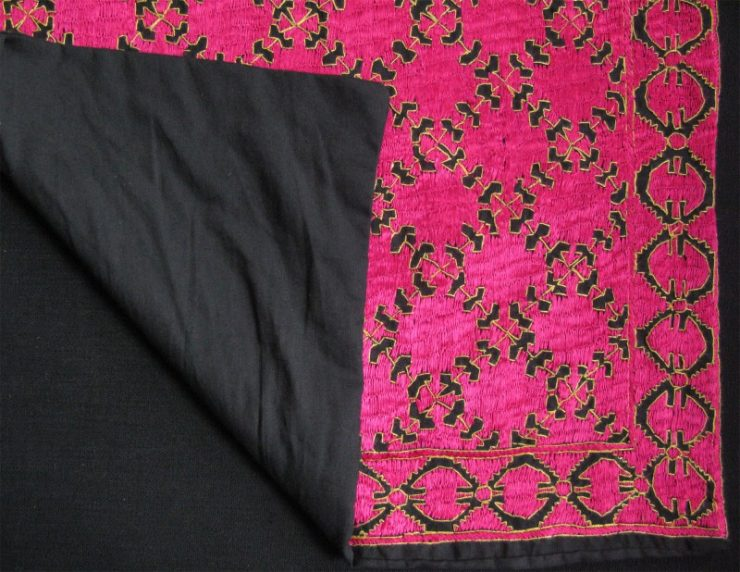 Pakistan - Khoistan Swat Valley tribal cushion cover