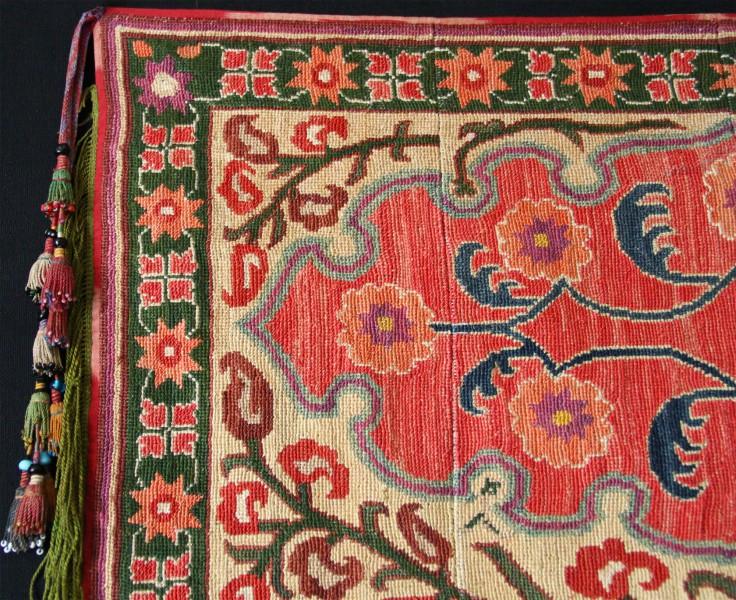 Uzbekistan Shahri - Sabz Saddle cover