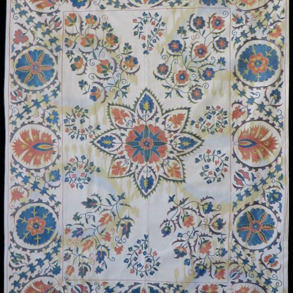 Uzbekistan Handmade Fargana Valley Suzani