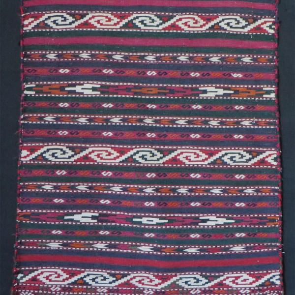 Turkmen Yomud handmade small prayer kilim