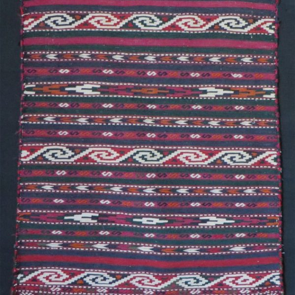 Turkmen Yomud handmade small prayer kilim