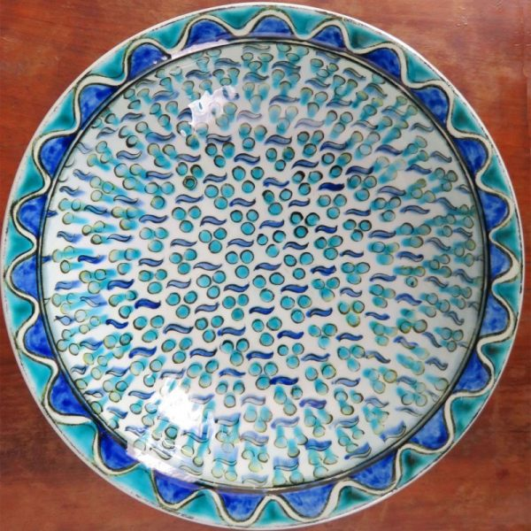 ANATOLIA - BURSA IZNIK while clay Ceramic Bowl
