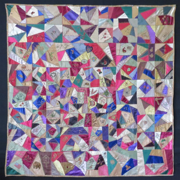 English Victorian Crazy patchwork