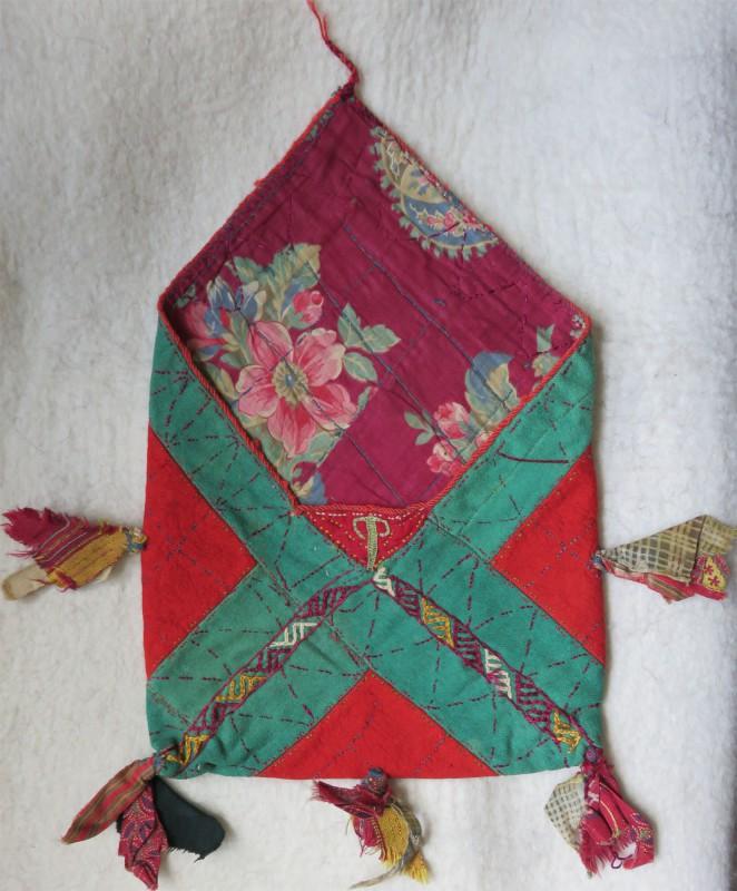 TURKMEN TEKKE tribal vanit bag
