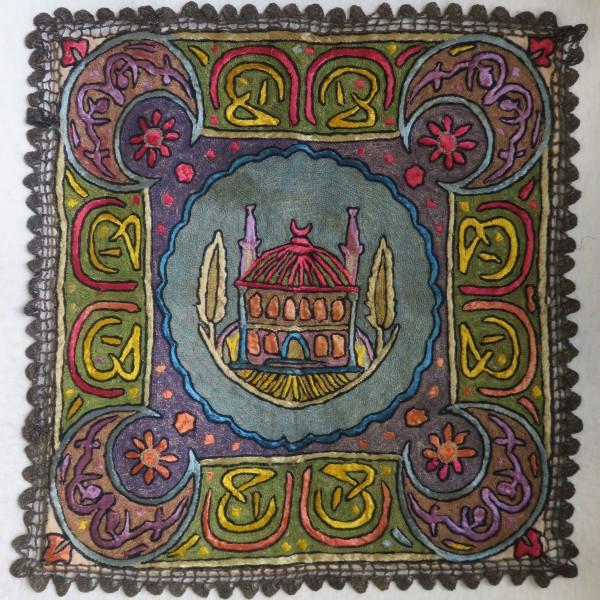 ANATOLIA - TRACE - EDIRNE Silk and Metallic fine embroidery