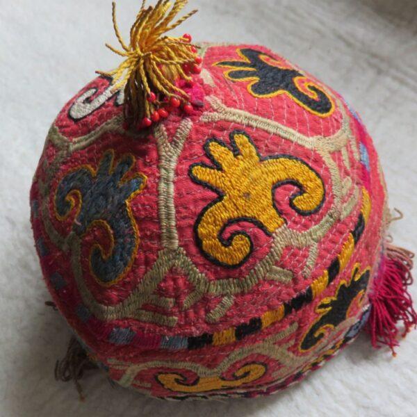 Uzbekistan - Surkandarya, LAKAI - LAKAY tribal hat